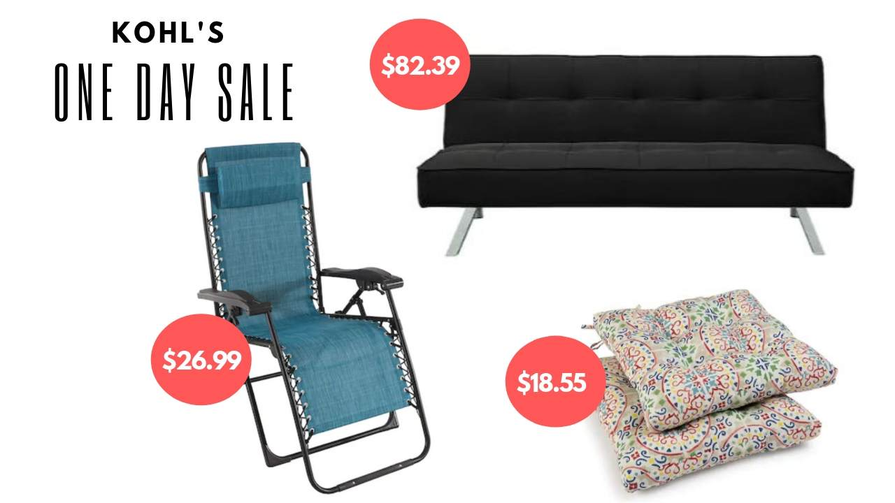 Kohls Folding Chairs Kohls Memorial Day Save 50 Off Furniture Patio Southern Savers