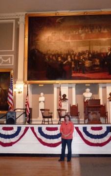 inside Faneuil Hall
