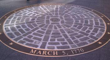 Boston Massacre marker