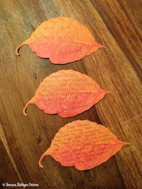Leaves from 2010