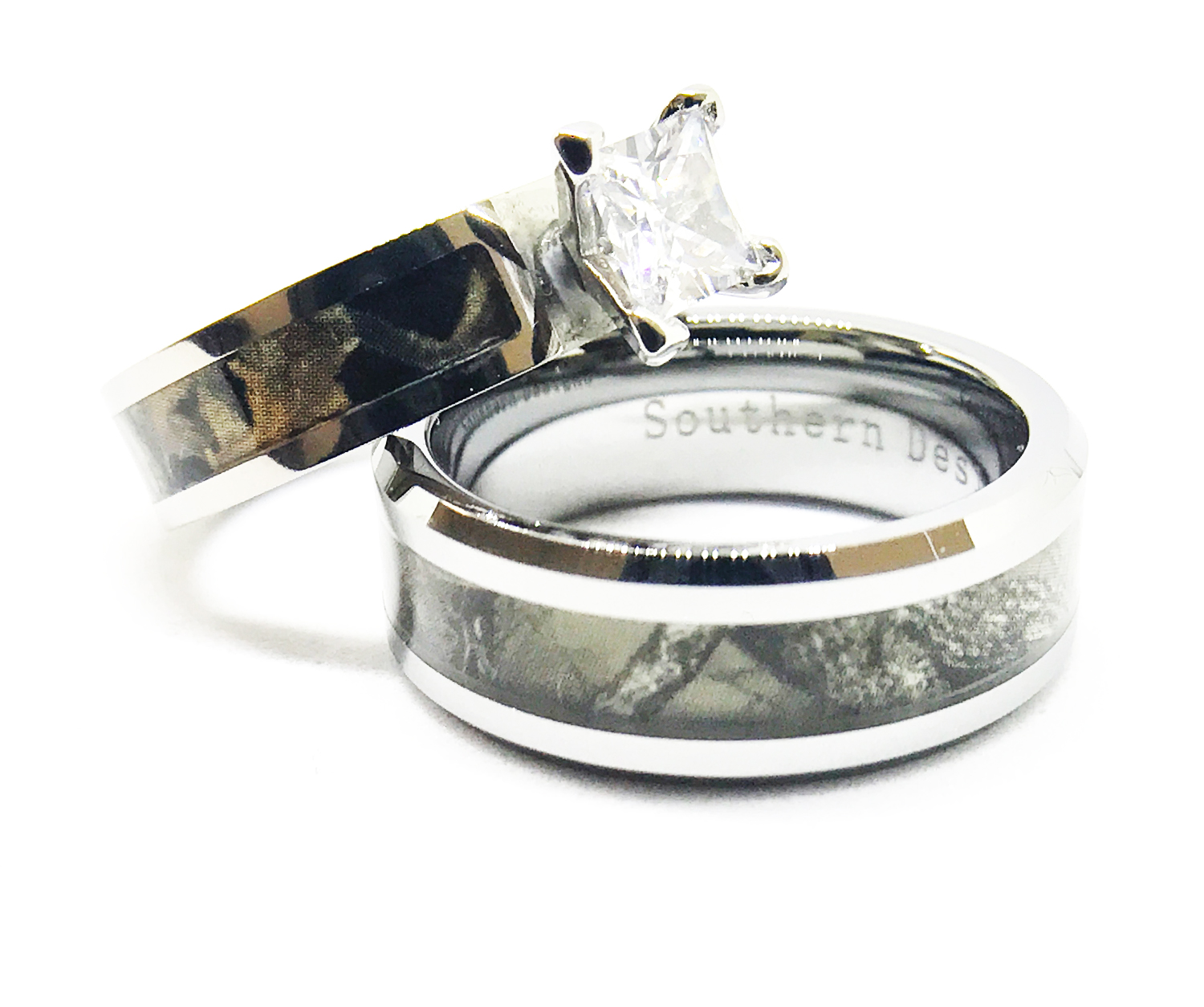 Brand New Camo Engagement Wedding Sets Southern Sisters
