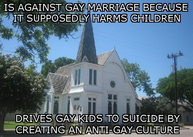 Churches vs Gays