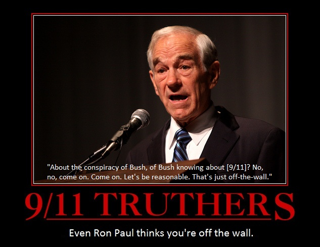 Ron Paul on 9/11 Truthers