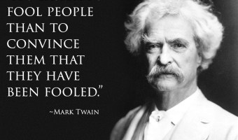 Mark Twain fool quote