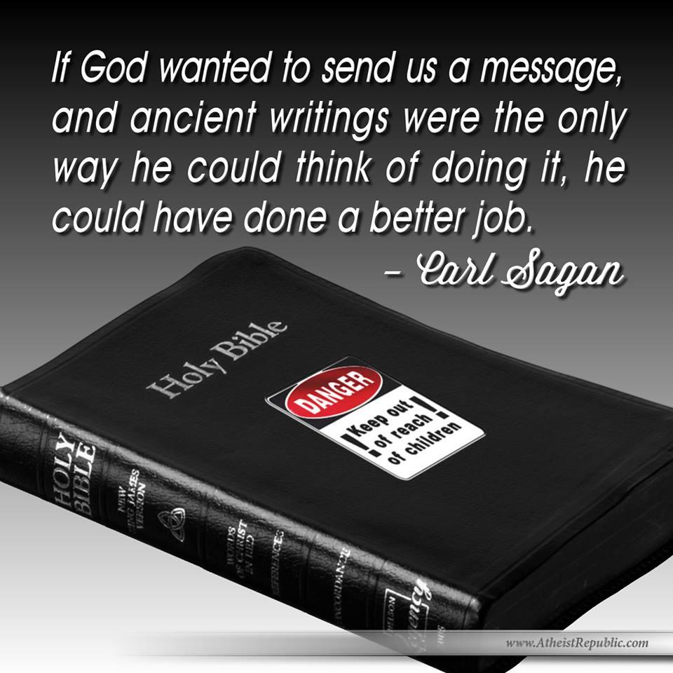 Sagan on God