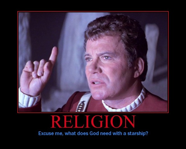 Excuse Me, What Does God Need With a Starship?