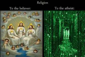 The Matrix and Atheism