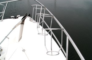 Stainless steel boat Fender Baskets