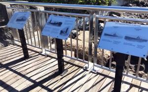 Catalina Riverwalk in Brisbane, stainless steel handrails