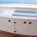 Stainless Custom Flush Mount Boat BBQ