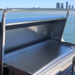 Deluxe Electric Stainless Boat BBQ
