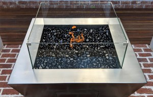 Handcrafted in Australia, the distinctive character of our stainless gas Fire Pit will bring warmth and style to your outdoor balcony