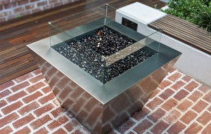Made in Australia, the distinctive character of our stainless gas Fire Pit will bring warmth and style to your entertaining