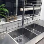 stainless steel custom kitchen bench Australia