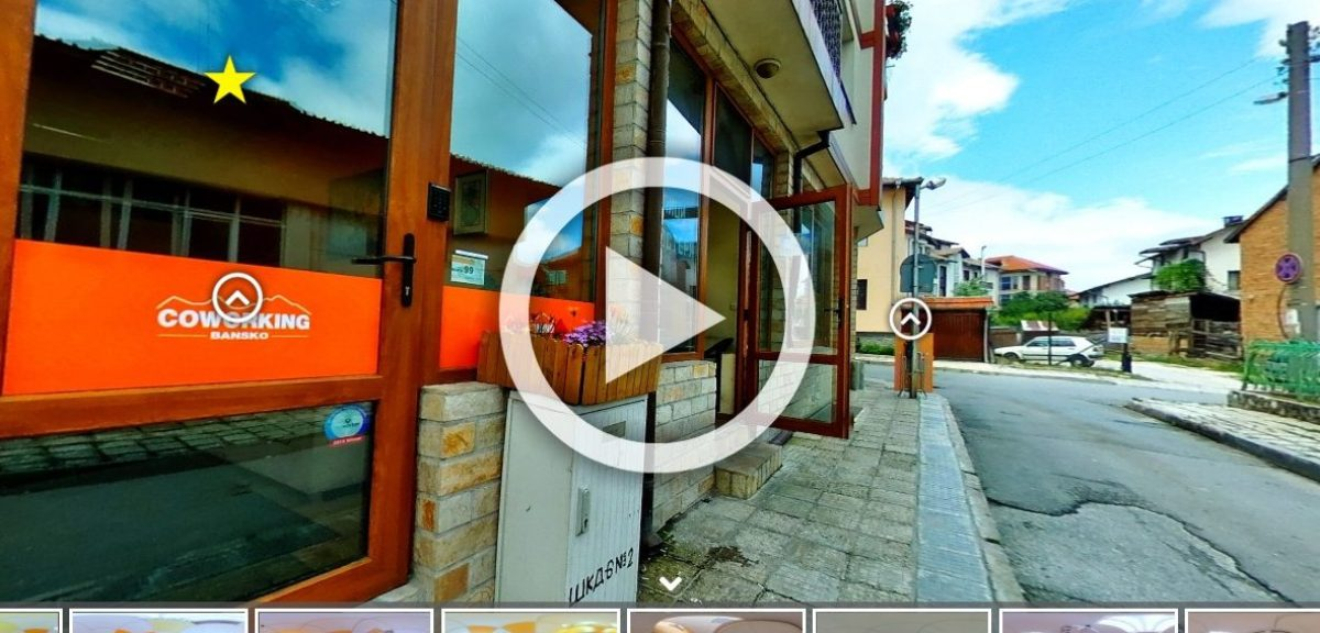 Hosted virtual tours include more features.