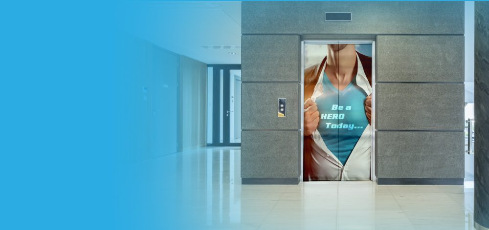 Elevator Wraps  Southern Star Signs  Graphics