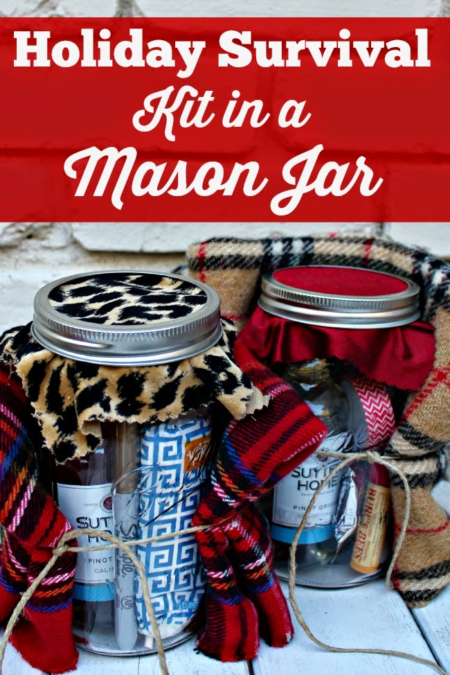 Holiday Survival Kit In A Mason Jar Southern State Of Mind