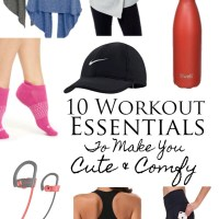 10 Workout Essentials To Make You Cute and Comfy