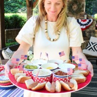 CELEBRATE || Red, White & Blue Hot Dog BBQ