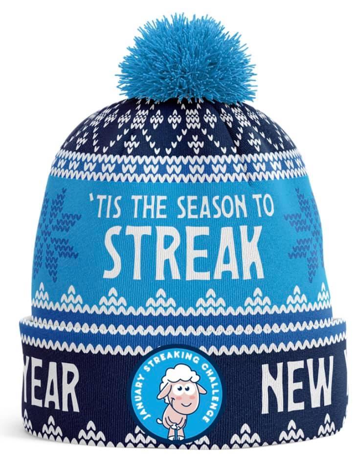 Streaking Challenge hat