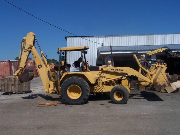 John Deere 410 Backhoe Parts - Year of Clean Water