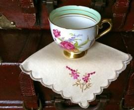 Southern Vintage Table Vintage Linens