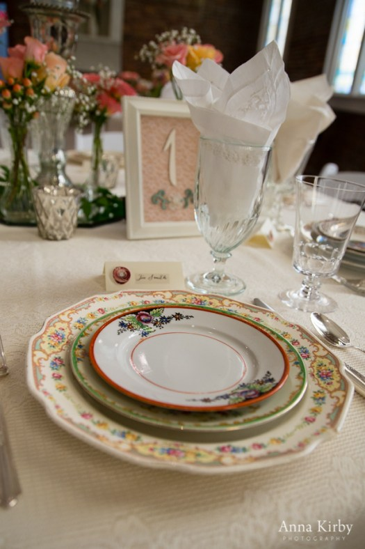 Southern Vintage Table Vintage China Rentals