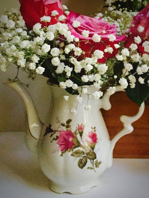 Teapot Vases Southern Vintage Table