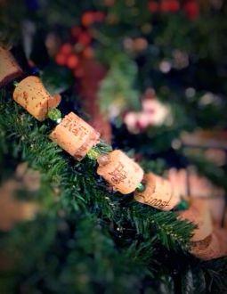 wine cork strand