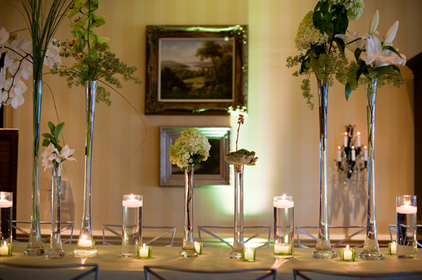 SOuthern weddings Southern wedding ideas Amelia Strauss country club wedding green and white