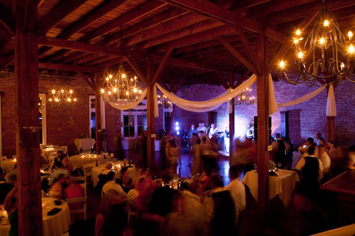 Southern weddings  barn wedding reception