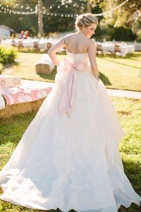 southern-wedding-pink-bow-dress