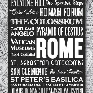 Rome Typography
