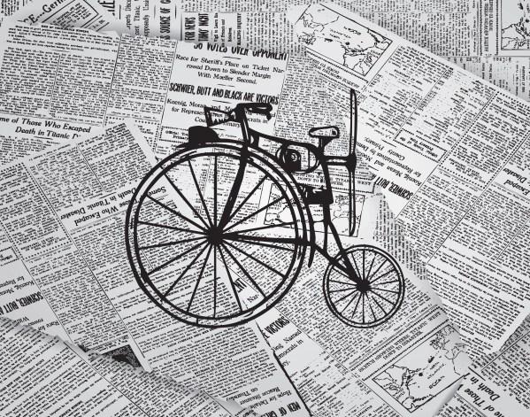 Steampunk Bicycle Print