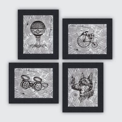 Steampunk prints