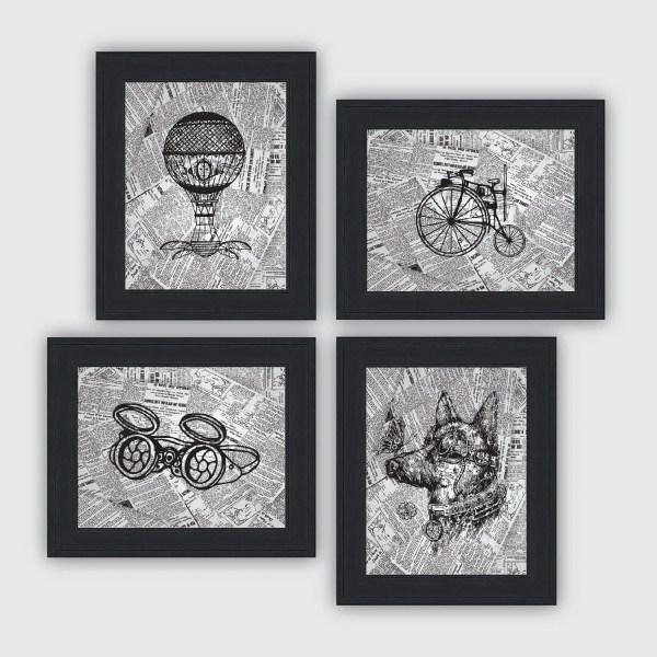 Steampunk prints