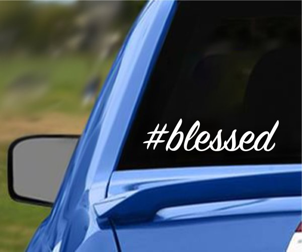Blessed Vehicle Decal