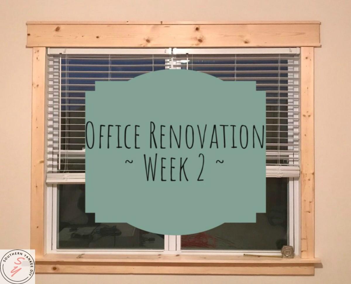 Office Renovation Week 2
