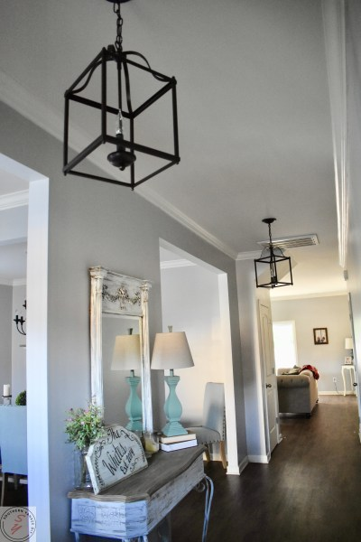 Farmhouse Lighting-Lanterns Entry Way