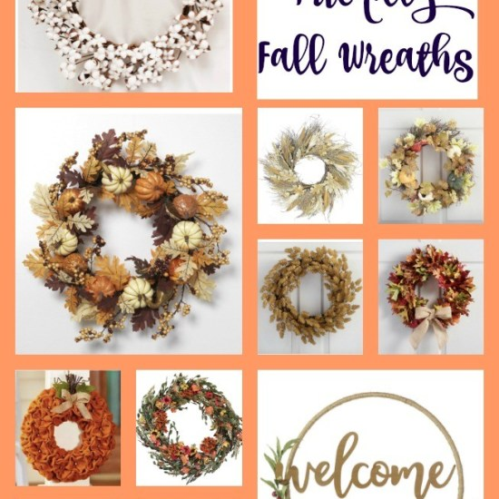 My favorite fall wreaths