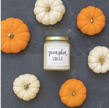 amazon pumpkin spice candle