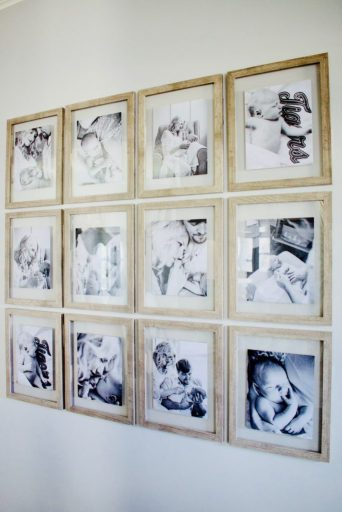 gallery wall, picture frame set, picture frames, Creating A Beautiful Gallery Wall The Lazy Girl Way
