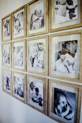 Creating A Beautiful Gallery Wall The Lazy Girl Way. Float Frames. Michaels. Picture Frames. Gallery wall. Picture Hanging. Command Strips. Black & White Photo Gallery
