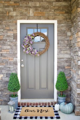 Fall Wreath, Outdoor Decor, Wreath, Fall, Front Door Decor, Flower Wreath, DIY Fall Decor
