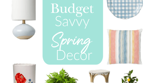 spring, budget savvy decor, decor, spring home decor, farmhouse decor, online shopping, cheap decor finds, budget decor, pastel decor, bright decor, color decor, modern decor, modern farmhouse decor, minimalist decor, target decor, kitchen decor, living room decor, table decor, lighting decor, outdoor decor, wall decor