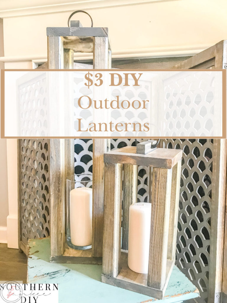 diy, garden, gardening, outdoor decor, front porch, back porch, patio decor, plant decor, planting, outdoor, front door decor, gardening, outdoor furniture, outdoor lanterns, diy lanterns, wooden lanterns, lanterns, diy wooden lanterns