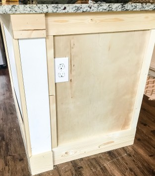 diy farmhouse kitchen island, kitchen island ideas, kitchen island ideas diy, easy diy kitchen island, kitchen island trim