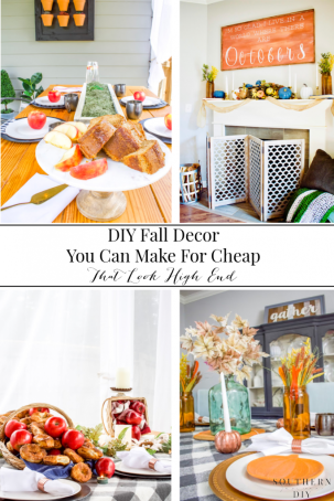 Fall Home Decor You Can Make For Almost Nothing (that still look high end)