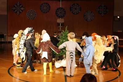 Southfield School Kindergarten Holiday Music