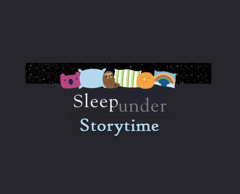 sleep under family storytime